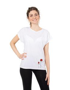 Eukalyptus T-Shirt Laura | Rosen - CORA happywear