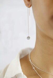 """Ohrringe """"Via"""" / silber oder vergoldet - pikfine"""