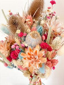 Trockenblumenstrauß bunt - Blooms 'n' Stories