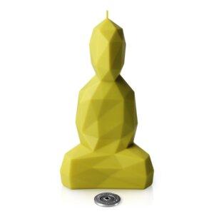 Buddha Kerze, durchgefärbt, verschiedene Farben - Burning Buddha