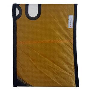Handgearbeitete Notebookhülle upcycled aus Segeltuch Unikat 12-14 Zoll - Beachbreak