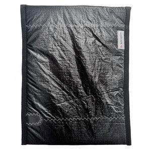Handgearbeitete Notebookhülle upcycled aus Segeltuch Unikat 15-16 Zoll - Beachbreak