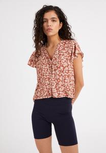 AANVI STRAW FLOWER - Damen Bluse aus LENZING ECOVERO - ARMEDANGELS