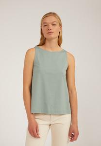 CARLOTTAA - Damen Top aus merzerisierter Bio-Baumwolle - ARMEDANGELS