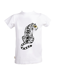Eukalyptus T-Shirt Ben mit Tiger - CORA happywear