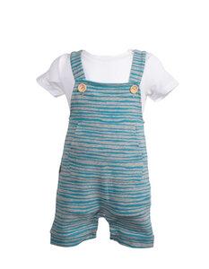 "Baby Latzhose in Bio- Baumwolle ""Mausi"" - CORA happywear"