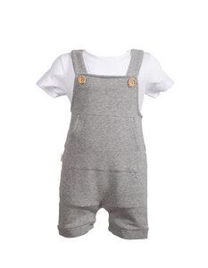 Latzhose in Bio- Baumwolle Mausi - CORA happywear