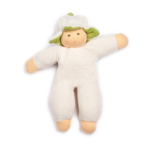 Lotties Baby Puppe Greifling aus Bio Baumwolle Blumenfee - Lotties