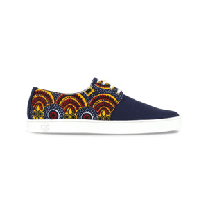Bunte Sneaker - Tombouctou - Blau - Unisex - PANAFRICA
