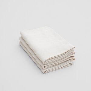 3er Pack bente - geschirrtuch aus 60% baumwolle (kbA) und 40% europäischem leinen - erlich textil