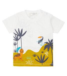 Buntes Baby T-Shirt Dschungel aus Biobaumwolle - Sense Organics & friends in cooperation with GARY MASH