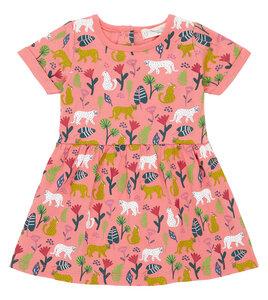 Buntes Babykleid mit süßem Dschungel Print - Sense Organics & friends in cooperation with GARY MASH