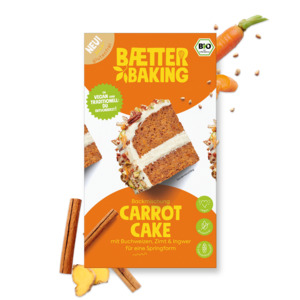 Bio-Backmischung Carrot Cake - Baetter Baking