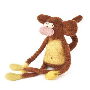 Affe als Filz Eierwärmer - short'n'pietz