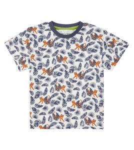 Buntes Kinder T-Shirt mit Tigern aus Biobaumwolle - Sense Organics & friends in cooperation with GARY MASH