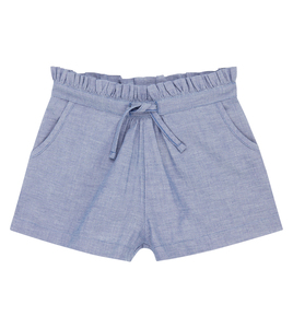 Hellblaue Chambray Shorts, Bio-Baumwolle - Sense Organics & friends in cooperation with GARY MASH