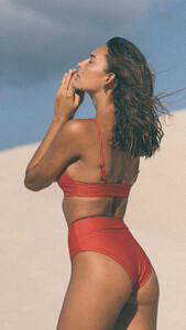 Bikini Bottom MAHINA - RED - OCEANCHILD