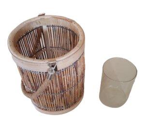 Bambus-Windlicht - ReineNatur