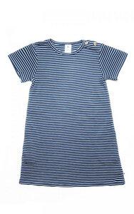 Baby Kinder Ringelkleid Sommerkleid Kleid Bio-Baumwolle 2621 - Leela Cotton