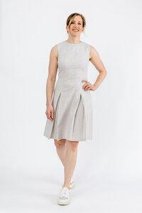 Kleid aus Bio-Baumwolle mit Streifen - NINA REIN