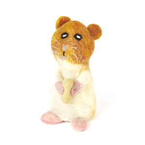 Hamster als Filz Eierwärmer - short'n'pietz
