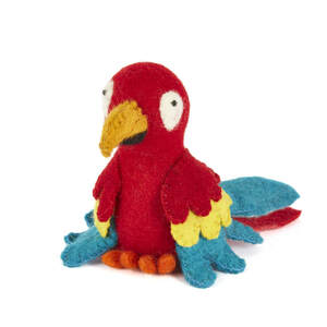 Papagei als Filzeierwärmer - short'n'pietz