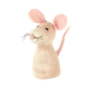 Ratte als Filz Eierwärmer - short'n'pietz