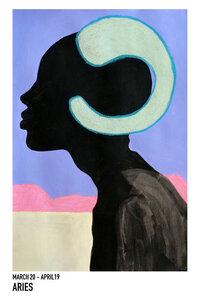 Aries - Poster von Sophia Novosel - Photocircle
