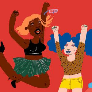 Happy Dance - Poster von Ezra W. Smith - Photocircle