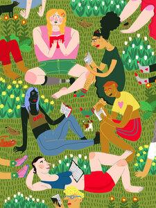 Summer Reading Club - Poster von Ezra W. Smith - Photocircle