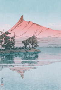 Artwork by #1 by Hasui Kawase - Poster von Japanese Vintage Art - Photocircle