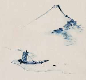 Mount Fuji by Katsushika Hokusai - Poster von Japanese Vintage Art - Photocircle
