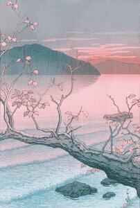 Autumn by Hasui Kawase - Poster von Japanese Vintage Art - Photocircle