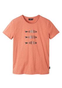 Herren T-Shirt #3FISHES aus Baumwolle (Bio) | Casual T-Shirt #3FISHES - recolution