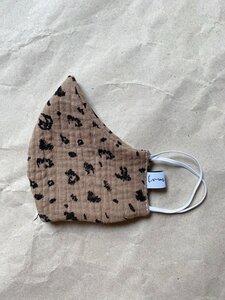 LEO Mund- und Nasenmaske aus Musselin - lomaja