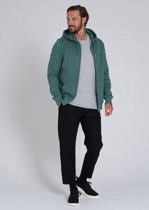 Herren Sweatjacke aus Baumwolle (Bio)   Basic Sweatjacket - recolution
