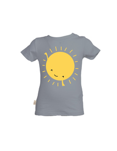 """Baby T-Shirt aus Eukalyptus Faser """"Alex"""" - Sonne - CORA happywear"""