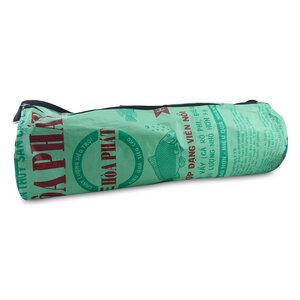 Yoga-Tasche Relax aus Zement- und Reissack - Upcycling Deluxe