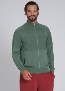 Herren Trainingsjacke aus Baumwolle (Bio) | Trackjacket #STRUCTURE - recolution
