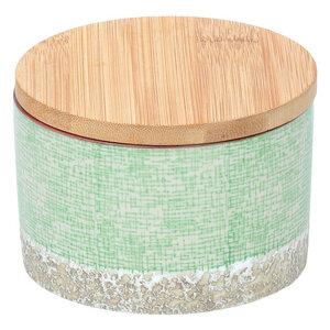 Dose Japanese aus Steingut mit Bambusdeckel - TRANQUILLO