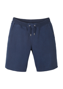 Herren Sweathose aus Baumwolle (Bio) blau | Sweat Shorts navy - recolution