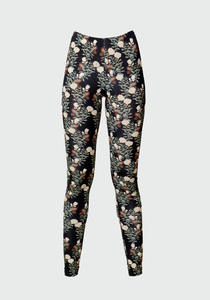 Bio-Baumwolle Leggings Nightflower - Atelier SNOW