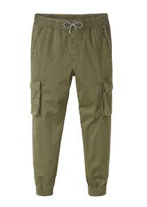 Herren Cargo Pants aus Baumwolle (Bio) in khaki | Cargo Pants dark olive - recolution
