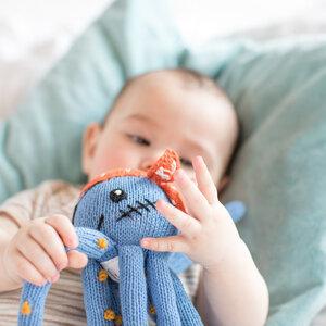Geschenk für Zwillinge zur Geburt: Oktopus-Set aus Bio-Baumwolle - Chill n Feel