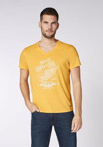 Men, T-Shirt mit Print, Regular Fit, GOTS - Oklahoma Jeans
