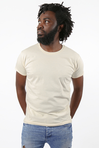Männer Basic Shirt aus Bio-Baumwolle Made in Tanzania - Kipepeo-Clothing