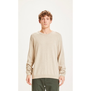 Long Stable Knit Pullover FIELD - KnowledgeCotton Apparel