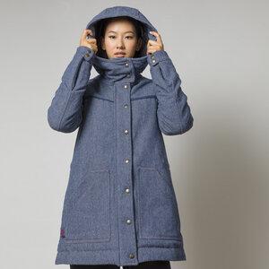 Recycelter Denim Parka - Lena - Rifò - Circular Fashion Made in Italy