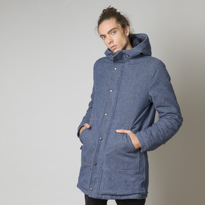 Recycelter Denim Parka - Bruno - Rifò - Circular Fashion Made in Italy