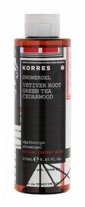 Duschgel Vetiver Root Green Tea Cedarwood - Korres